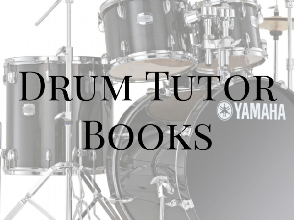 Drum Tutor Books
